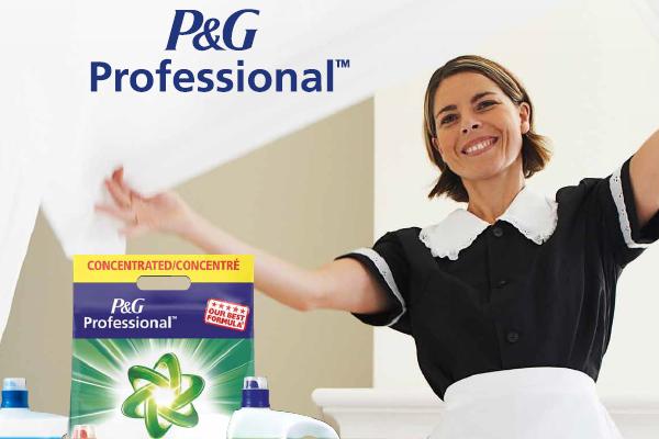 Profesionální systém úklidu od P&G Professional