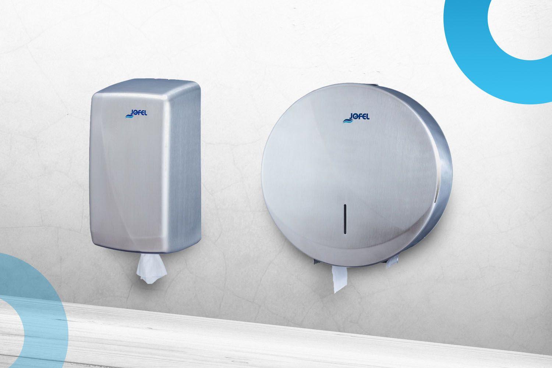 JOFEL - to je značka kvalitních dávkovačů mýdla, zásobníků na ručníky a wc role, osoušečů rukou v moderním designu
