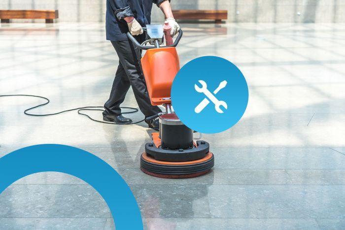 Servis - úklidové stroje, čistící stroje