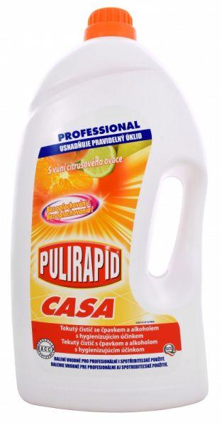 PULIRAPID CASA AGRUMI 5l - univerzální čistič se čpavkem, citrusové ovoce