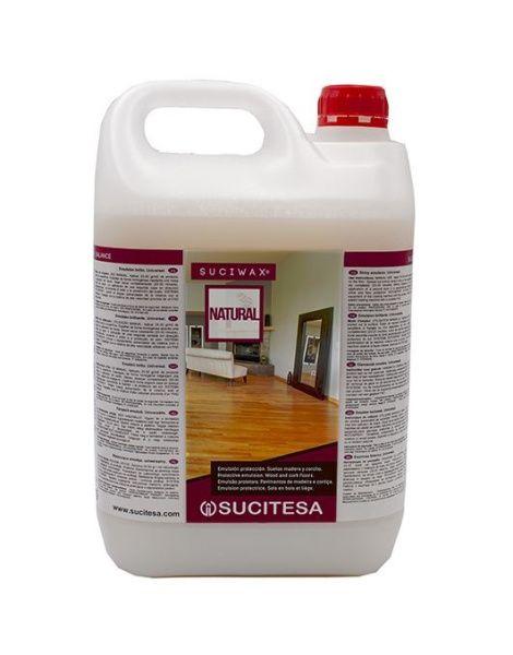 Suciwax NATURAL ochranný vosk na dřevěné a korkové podlahy 5 l