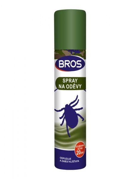 BROS sprej na oděvy proti klíšťatům - 90 ml