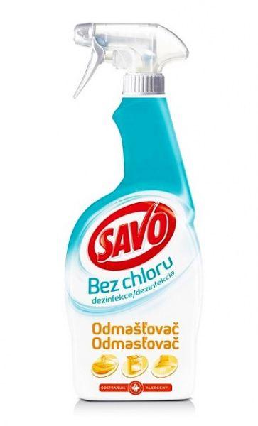 Savo čistič bez chloru odmašťovač 700 ml