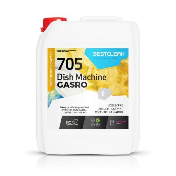 BESTCLEAN 705 prostředek na strojní mytí nádobí - 5 l
