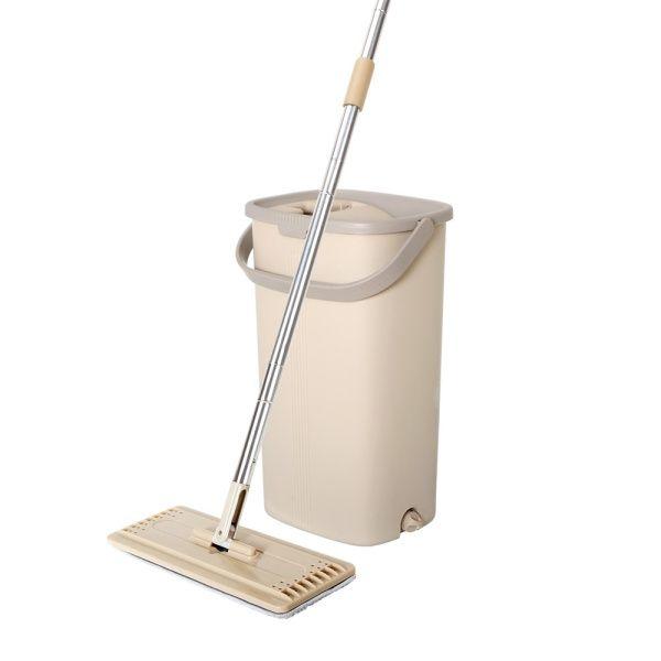 Spin mop tablet plochý s kbelíkem - 5 l