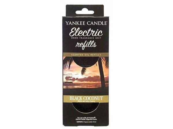 Yankee Candle náhradní náplň pro vůni do elektrické zásuvky Black Coconut - 2 ks