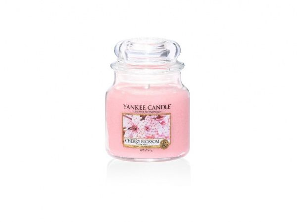 Yankee Candle vonná svíčka Cherry Blossom Classic střední - 411 g