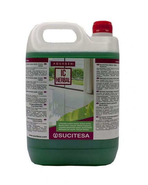 Sucitesa Aquagen IC Herbal - na mytí podlah 5 l