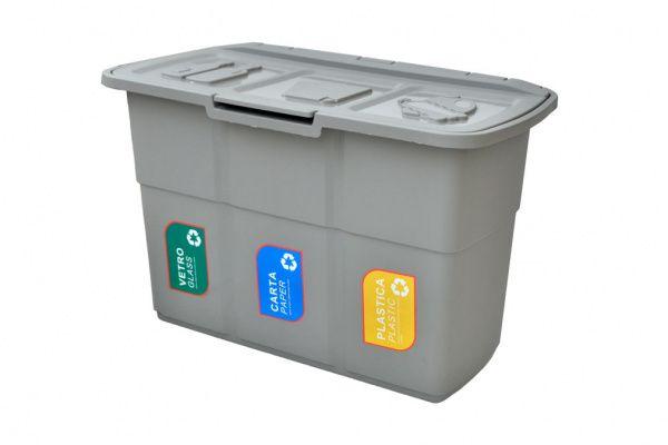 AllServices ECOPAT Odpadkový kontejner na tříděný odpad 1 ks
