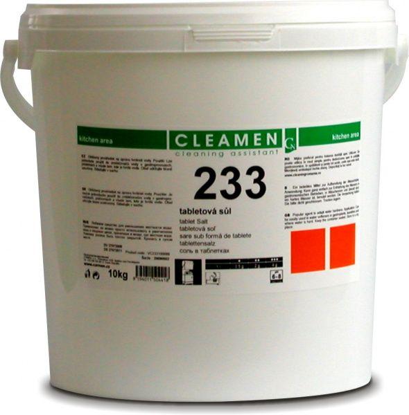 CLEAMEN 233 tabletová sůl do myček 10 kg