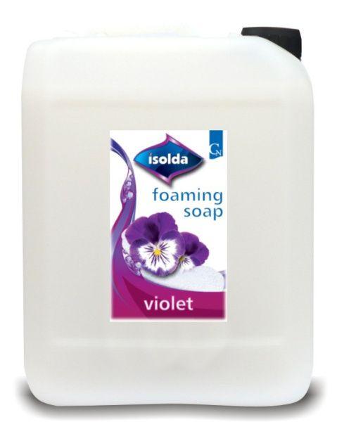 ISOLDA Pěnové mýdlo VIOLET 5 l do zpěňovacího dávkovače