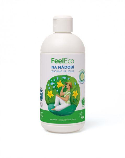 Feel Eco prostředek na nádobí s vůní okurky - 500 ml