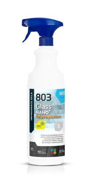 BESTCLEAN 803 impregnace a ochrana skleněných ploch bez parfemace - 1 l