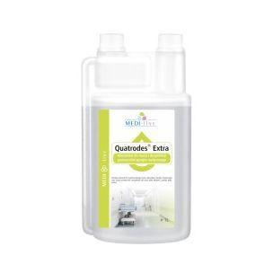Medi-Line Quatrodes Extra - dezinfekce a čištění zdravotnických povrchů - koncentrát 1 l