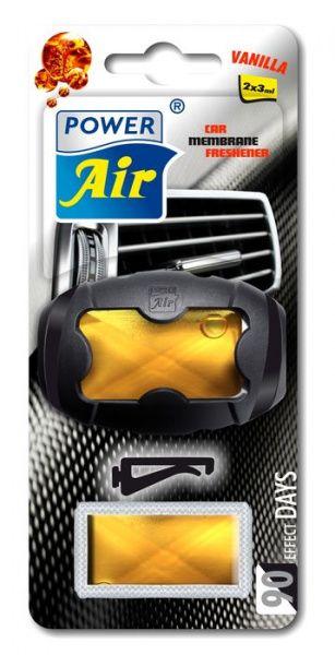 Power Air XR-5 Unikátní membránový osvěžovač do ventilátoru s náhradní náplní vanilka