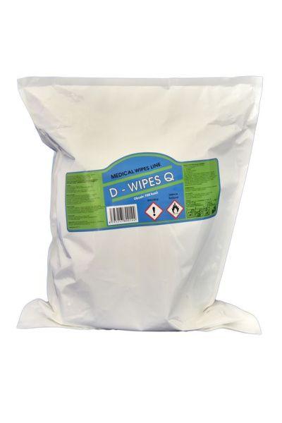 D-Wipes Zvlhčené dezinfekční utěrky Medical wipes line náplň 700 ks