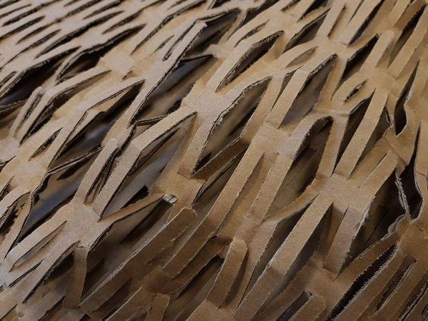 Výplňový materiál - kartonová výplň do balíků - ekologická likvidace