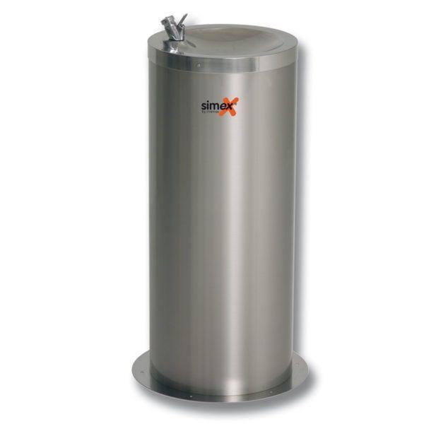 Simex nerezová fontána na pitnou vodu, výška 80 cm