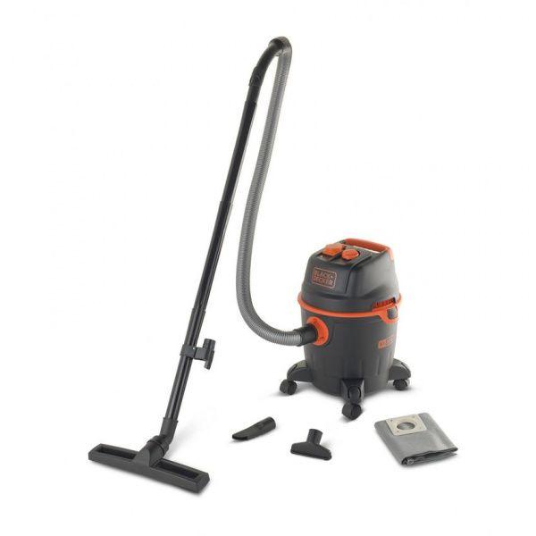 Black + Decker vysavač profi se zásuvkou a s plastovou nádobou BX20PT - 20 l