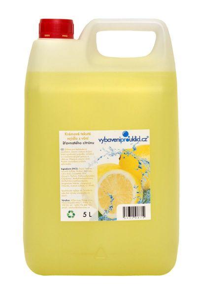 Tekuté mýdlo s vůní citronu - 5 l