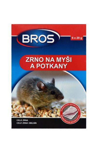 BROS zrno na myši a potkany 100 g