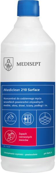 Surf Clean MC210 na omyvatelné povrchy s vůní červeného ovoce 1 l
