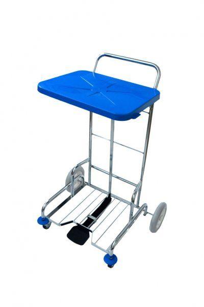 Eastmop PedalBag úklidový vozík 120 l s výklopným víkem