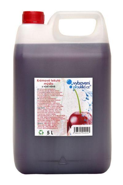 Tekuté mýdlo s vůní višně - 5 l