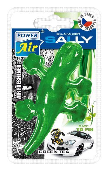 Power Air Moderní plastový osvěžovač ještěrka zelený