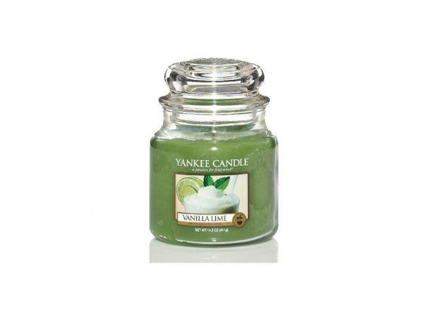Yankee Candle vonná svíčka Vanilla Lime Classic střední - 411 g