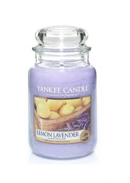 Yankee Candle vonná svíčka Lemon Lavender Classic velká - 625 g