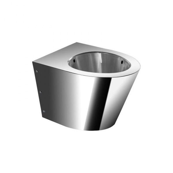 Simex antivandalové WC dětské nerez - povrch matný