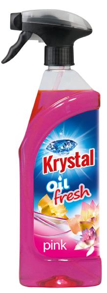 KRYSTAL olejový osvěžovač růžový 0,75 l
