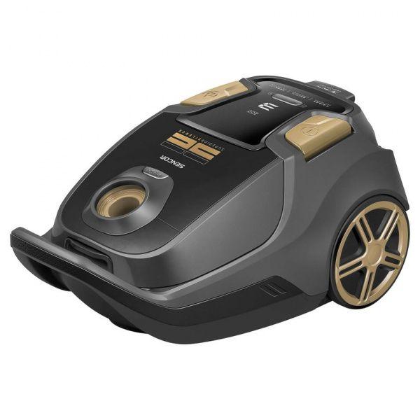 Sencor sáčkový vysavač SVC 9300BK - černozlatý