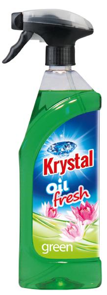 KRYSTAL olejový osvěžovač zelený 0,75 l