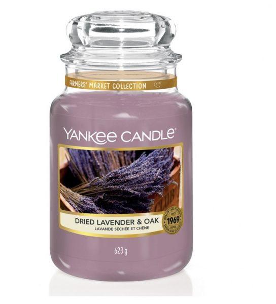 Yankee Candle vonná svíčka Dried Lavender&Oak Classic velká - 625 g
