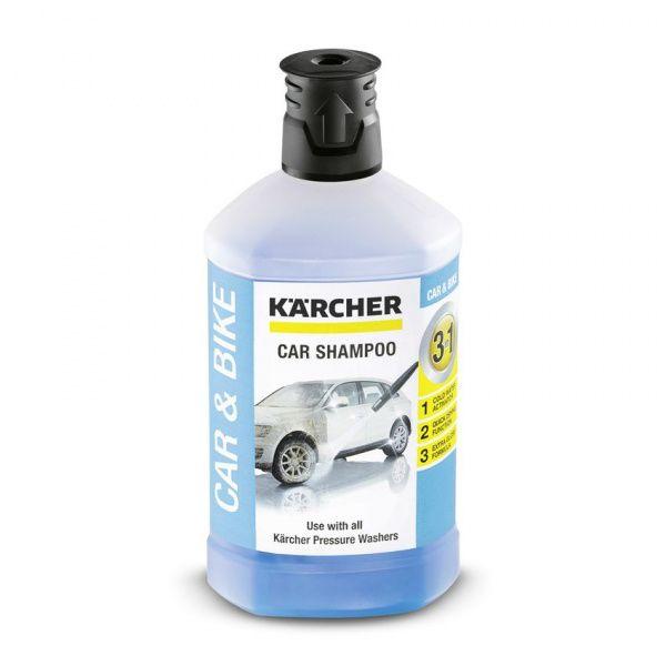Kärcher autošampon 3v1 k použití s vysokotlakými čističi - 1 l