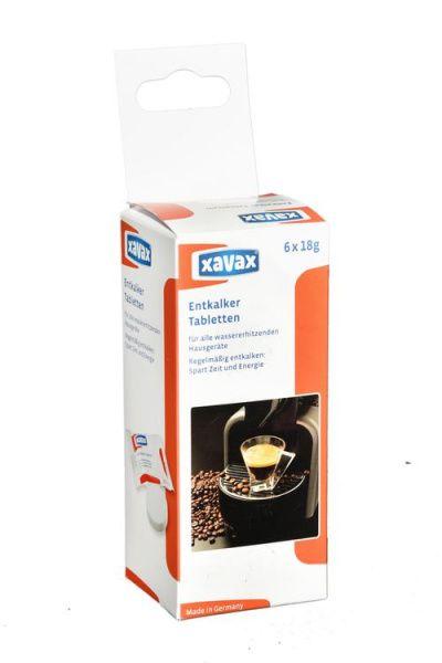 Xavax tablety na odstraňování vodního kamene 6 ks
