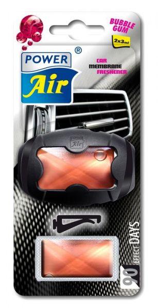 Power Air XR-50 Unikátní membránový osvěžovač do ventilátoru s náhradní náplní bubble gum