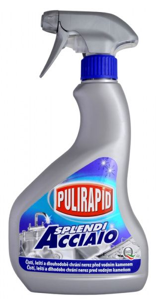 PULIRAPID SPLENDI 500 ml - ochrana nerezu