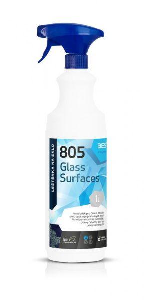 BESTCLEAN 805 leštěnka na sklo, nano ochrana - polar wood 1 l