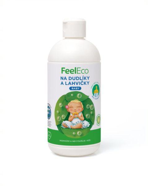 Feel Eco prostředek na mytí dudlíků Baby 500ml
