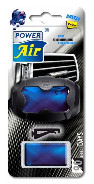 Power Air XR-10 Unikátní membránový osvěžovač do ventilátoru s nahradní náplní breeze
