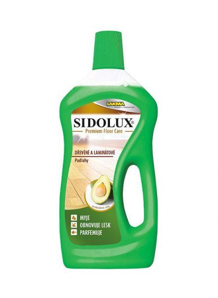 Sidolux Premium Floor Care dřevěné a laminátové podlahy 750 ml - avokádový olej