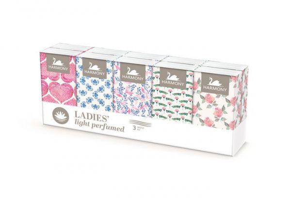 Parfumované kapesníčky Ladies Harmony, 10ks