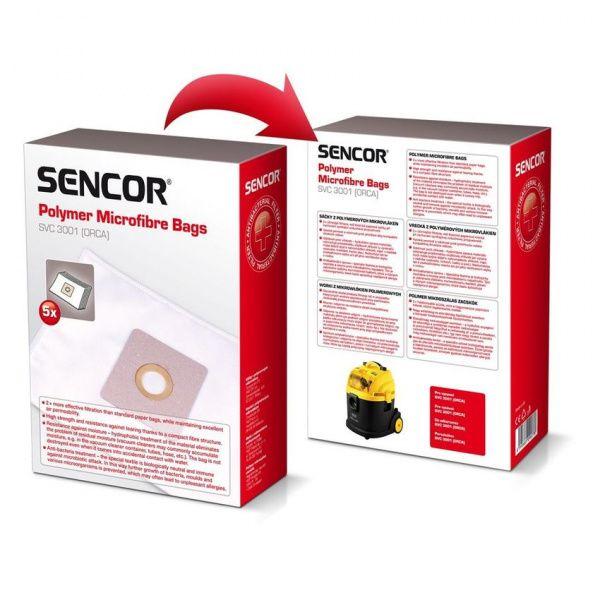 Sencor sáčky do vysavače SVC 3001 - 5 kusů