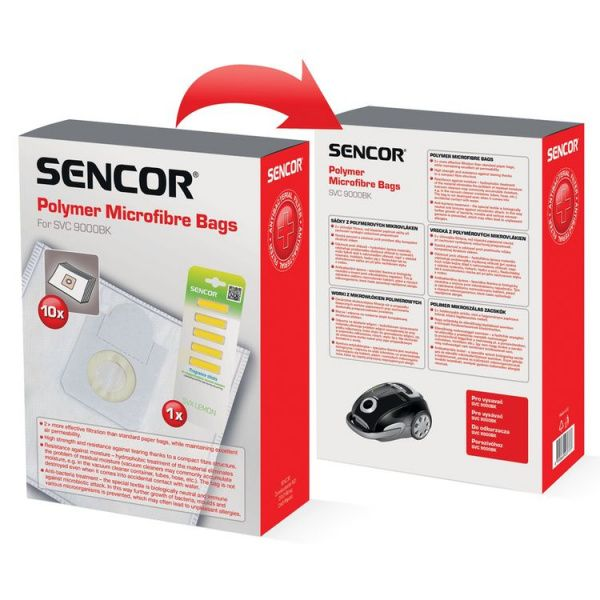 Sencor sáčky do vysavače SVC 9000 - 10 kusů + 5 kusů vonných tyčinek