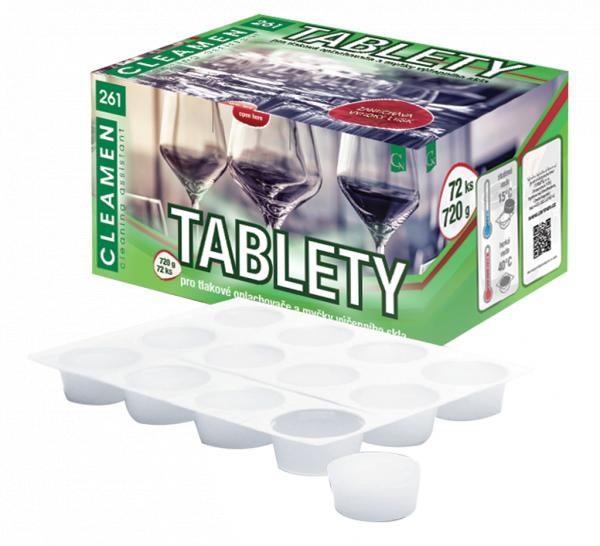 CLEAMEN 261 restaurační sklo - tablety 72 ks