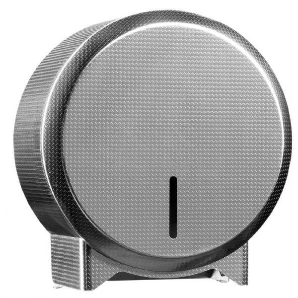 Zásobník na toaletní papír v rolích Mini MERIDA INOX DESIGN texture line, nerez