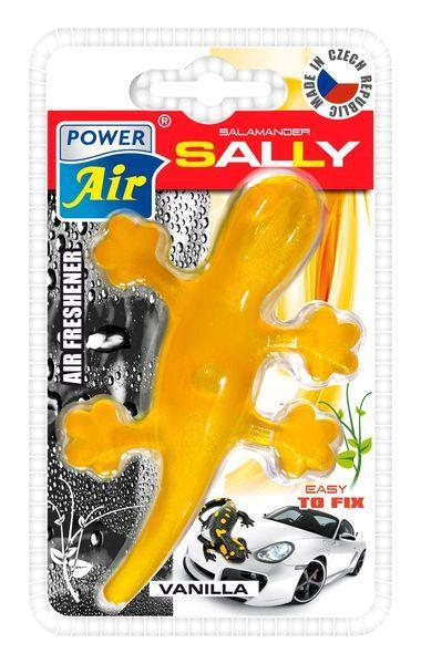 Power Air Moderní plastový osvěžovač ještěrka žlutý